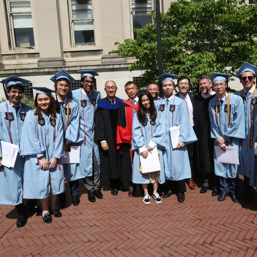 2019 CityU grads at Columbia commencement